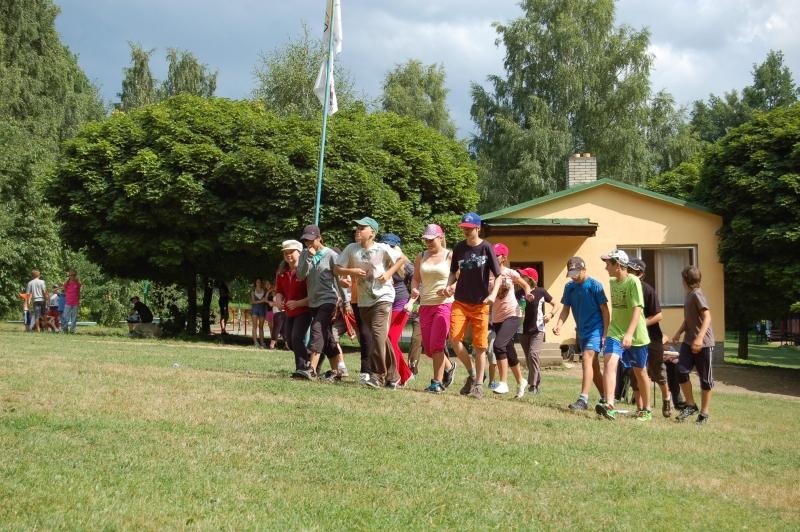 Letní tábor Kazimírka - 5.etapa