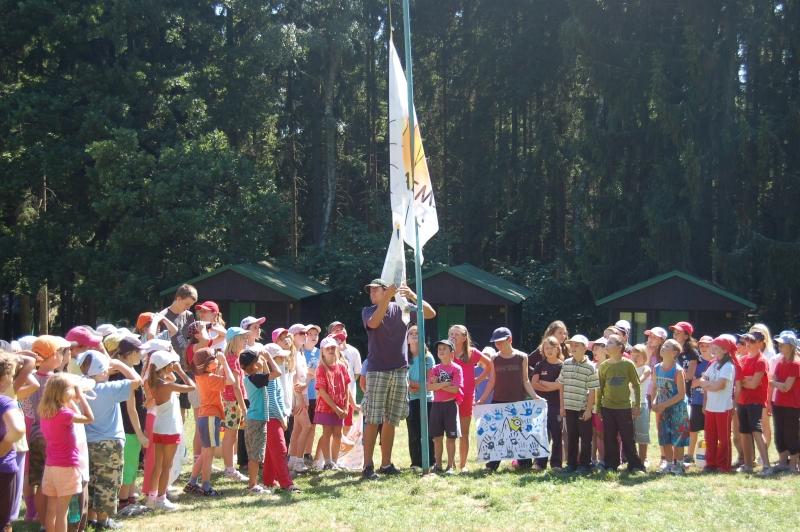 Letní tábor Kazimírka - vlajka
