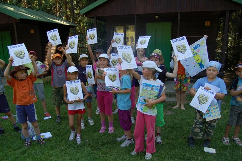 Letní tábor Kazimírka - diplomy