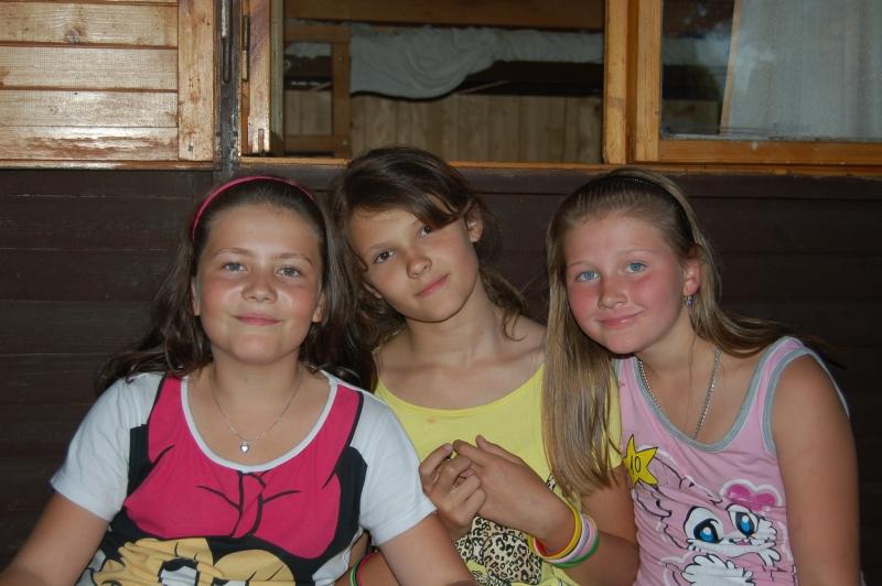 Letní tábor Kazimírka - kamarádky