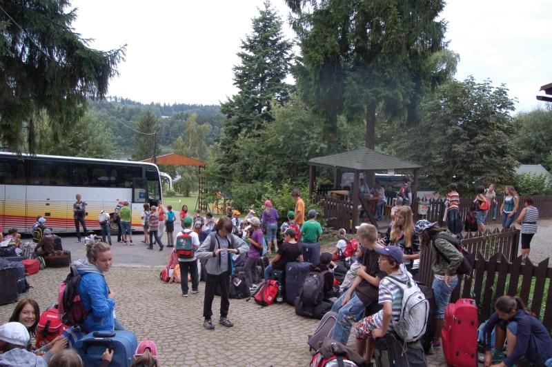 Letní tábor Kazimírka - odjezd