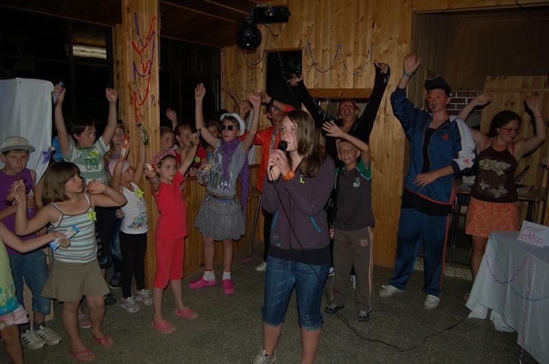 Letní tábor Kazimírka - Hledá se talent