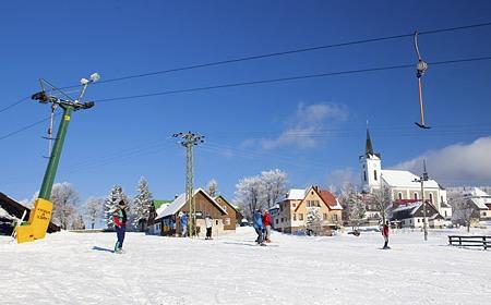 Zimní tábor Kazimírka
