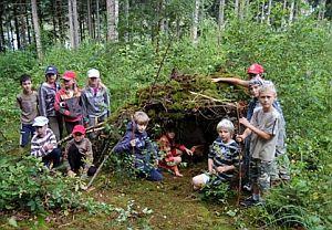 Letní dětský tábor - zálesáctví